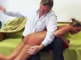Daria is Stripped Spanking
