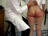 Charming juvenile miss is spanked