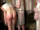Female servant in the parlour
