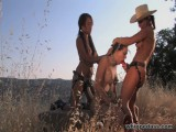 Sandra Romain, Crissy Cums and Annie Cruz