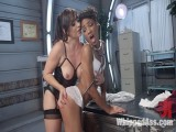 Crazed Lesbo Patient Spanks and Fucks Hawt Nurse!