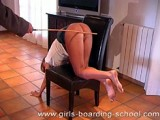 Bows over the chair for a caning