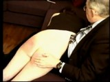 Intense humiliating spanking